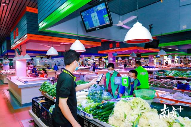 深圳智慧农贸市场在全国首创了智慧计量监管系统。
